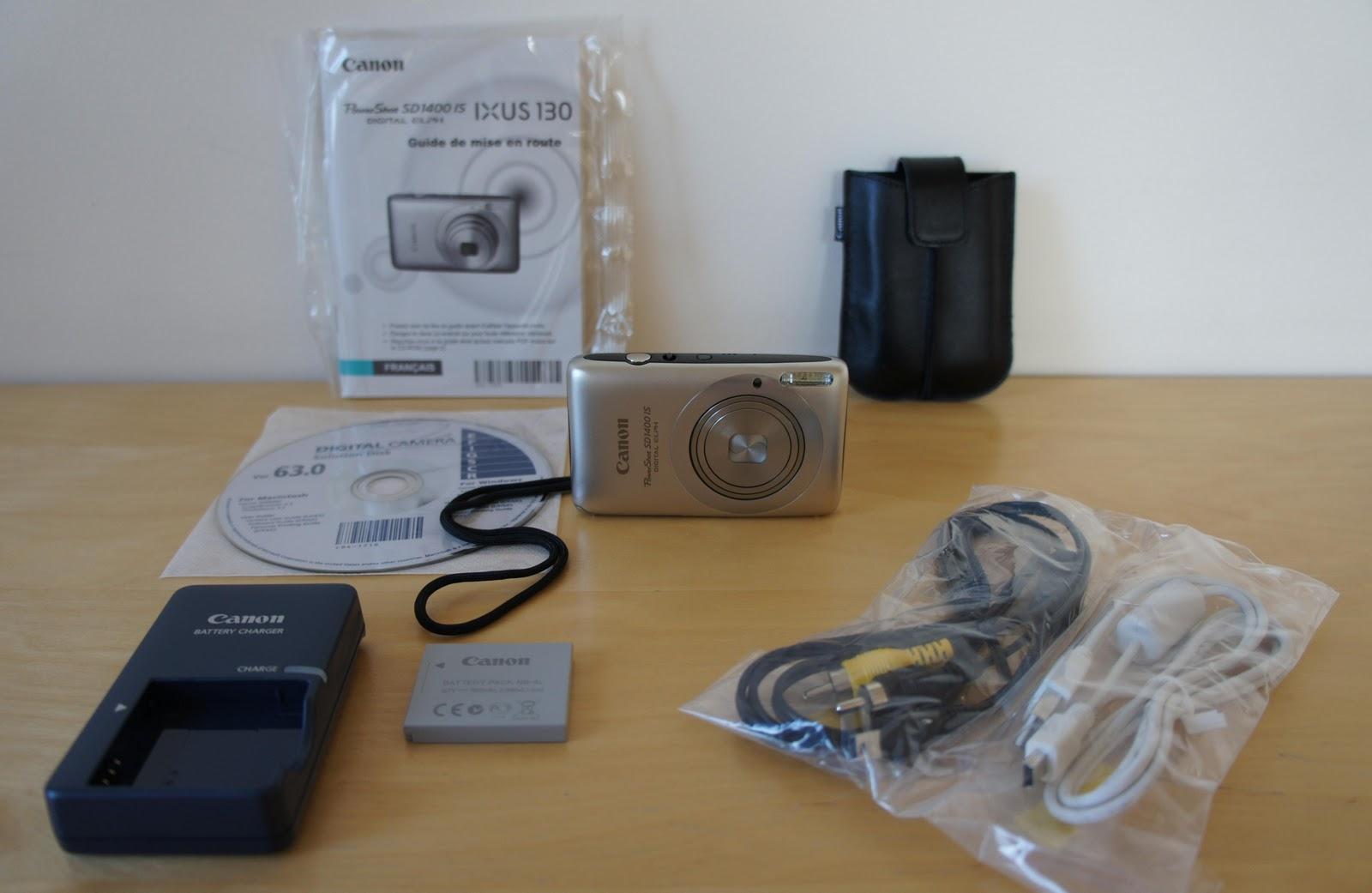 canon powershot sd1400 is digital elph manual