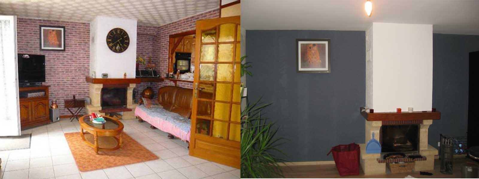 la maison aux volets verts cheminee avant apres. Black Bedroom Furniture Sets. Home Design Ideas