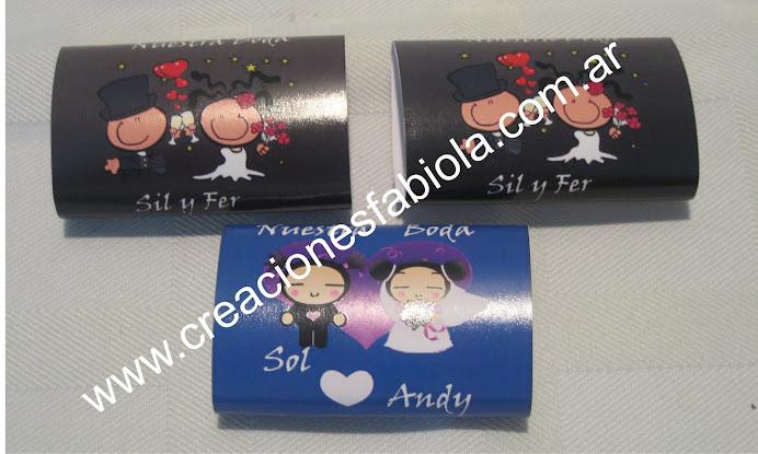 chocolates personalizado boda