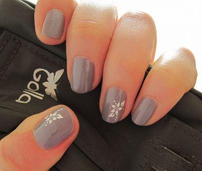 nails reloaded nageldesign p2 elegant mit stamping. Black Bedroom Furniture Sets. Home Design Ideas