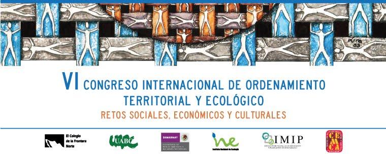 VI Congreso Internacional de Ordenamiento Territorial y Ecológico