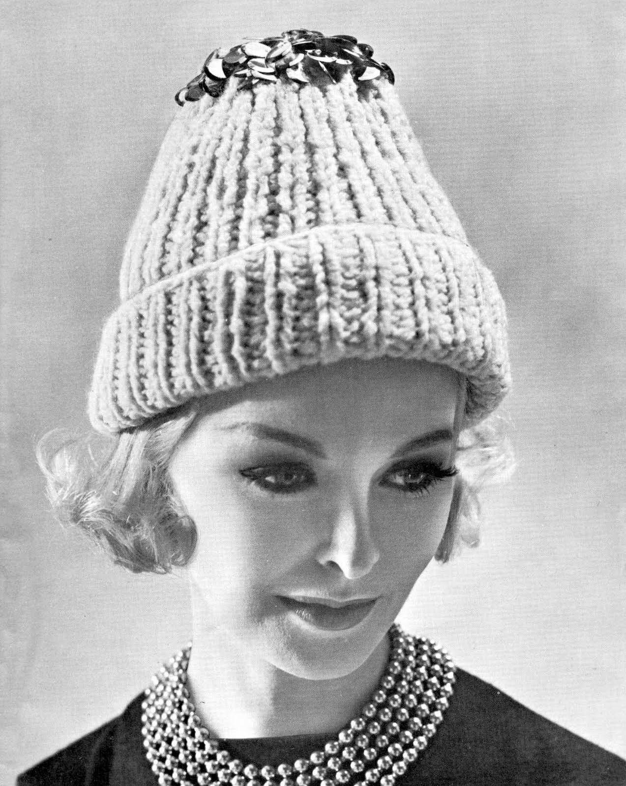High Fashion Crochet Hat