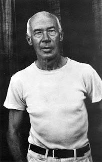 Генри Миллер в середине 50-х годов, в пору создания Биг-Сура