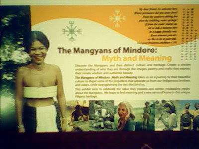Mangyan Exhibit