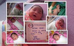 Darwisya baru dilahirkan