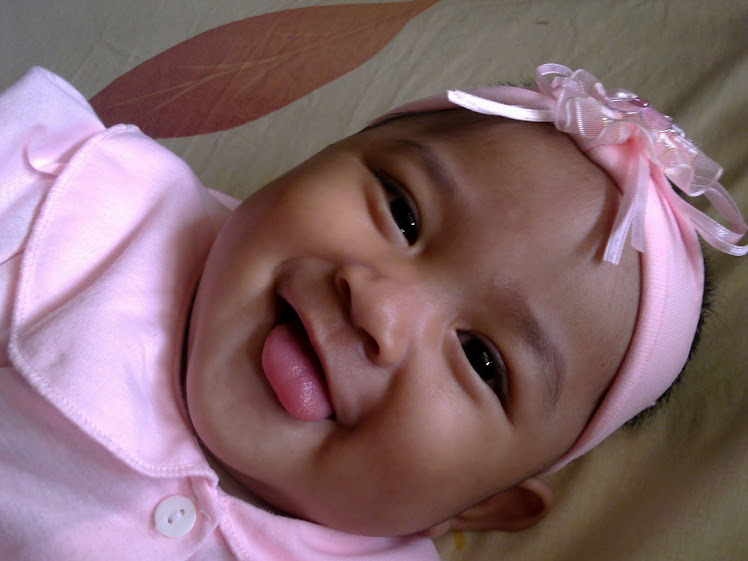 Nur Darwisya Damia 8 Months Old On 06/04/2010