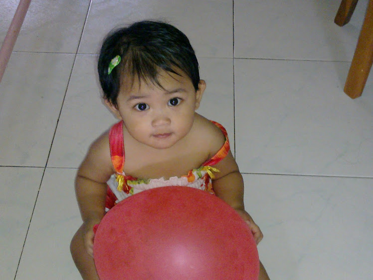 NUR DARWISYA DAMIA 12 Months Old On 06/08/2010