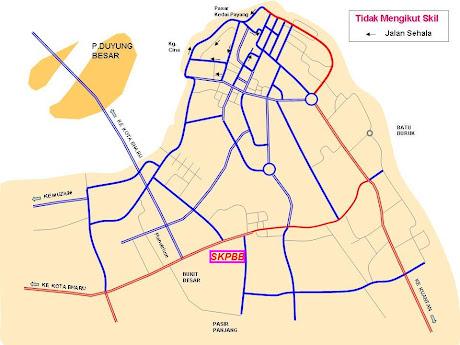 Peta Lokasi SKPBB