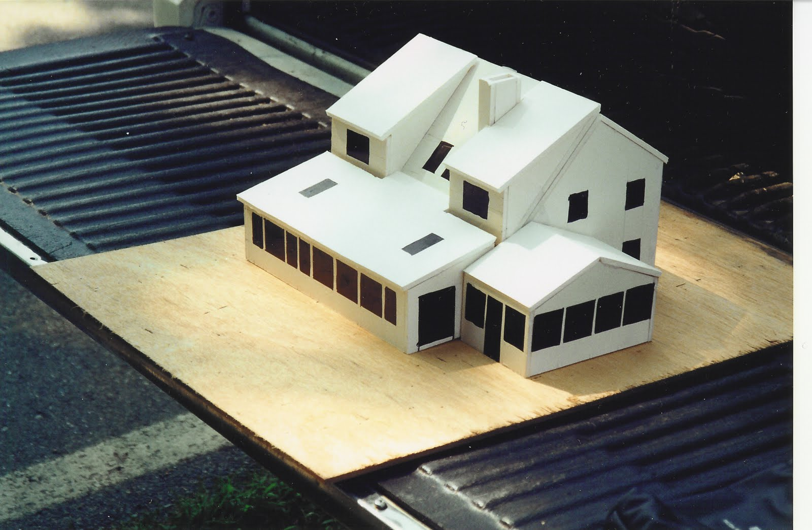 Home Remodeling Blog Build A Foam Core Model Before: building model homes