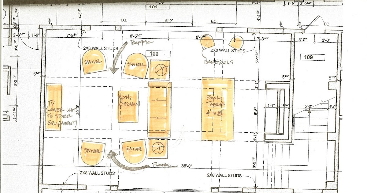 Cheryl Smith Associates Interior Design Furniture Lay Out