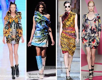 2010 yaz desenli kumas moda trend 3