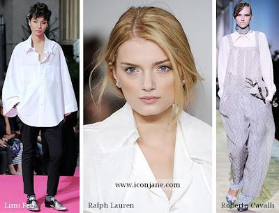 beyaz gomlek modelleri 2010 yaz sezon modasi 1