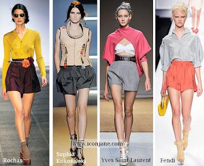 2010 yaz romantik kumas sort modelleri moda trend 5