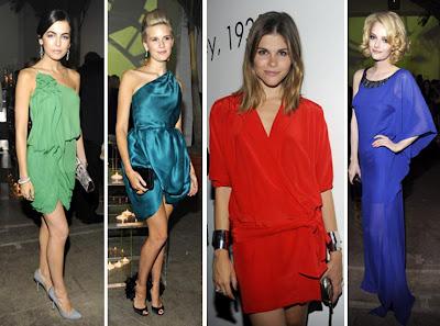 renkli elbiseler