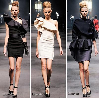 lanvin 2010 elbise 2