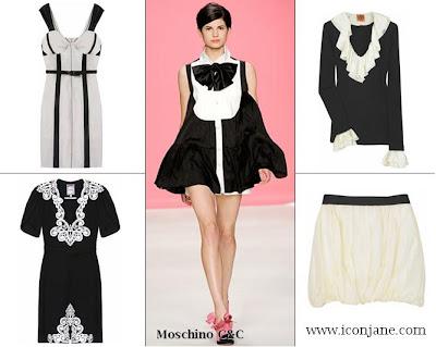 siyah beyaz kiyafet elbise etek