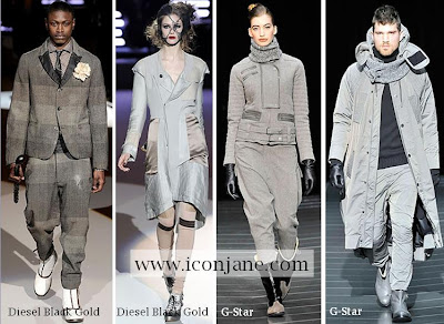 2009 2010 kis en moda renk gri 2
