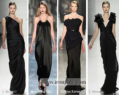 2010 kis abiye siyah uzun elbise 2