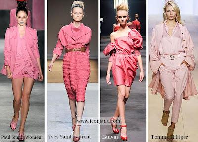 2010 yaz trend moda renk pembe 1