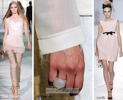 2010 yazi pudra renk elbise ayakkabi canta 2