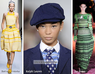 2010 yaz moda trend cizgili 3