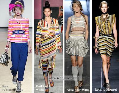 2010 yaz moda trend cizgili 5