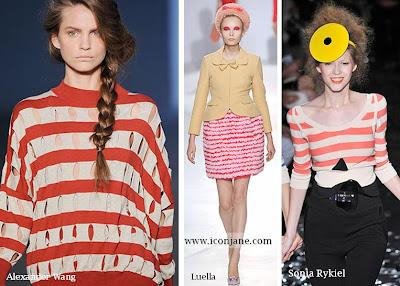 2010 yaz moda trend cizgili 6