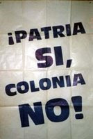 Patria SI colonia NO