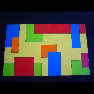 Bright Blocks I - Sold