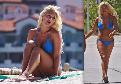 hottest celebrity swim wear top celebrities