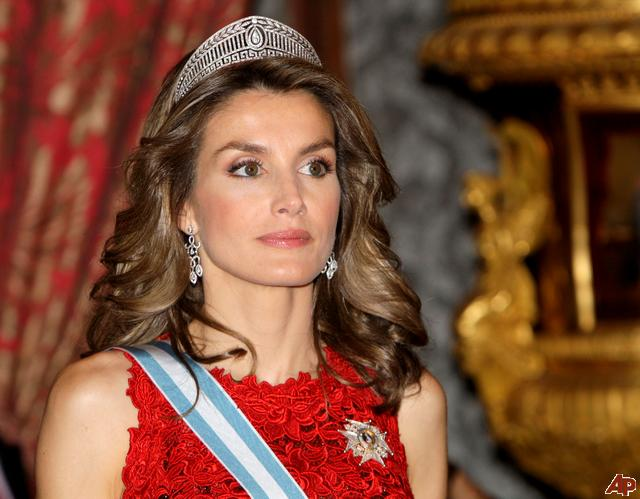 princess letizia of spain bio. heir apparent to the