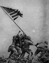 "Iwo Jima ""our flag was still there.."""