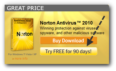 how to use norton 360 trial reset