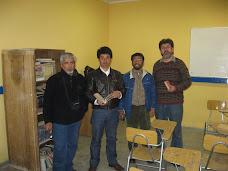 "En el Taller ""Liberarte"" 2007 de Limache"