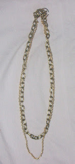 DIY necklace in chains