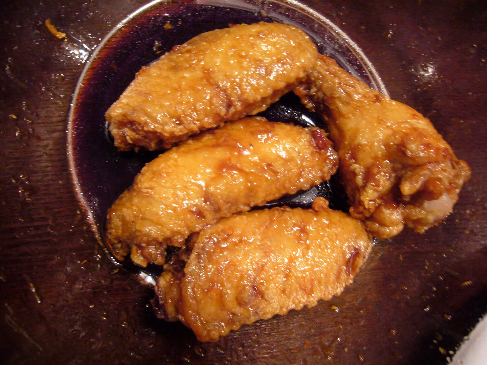 Honey Teriyaki Ginger Wings - Katie\'s Cucina