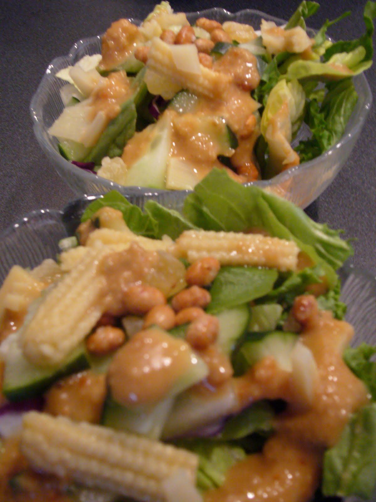 Honey Ginger Salad - Katie\'s Cucina