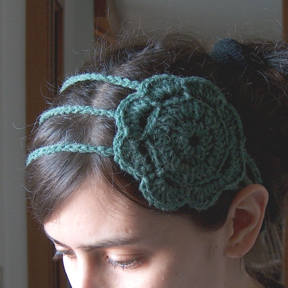 Free Crochet Pattern For Ladies Headband : Crochet Headbands Free Patterns Tattoo Design Bild