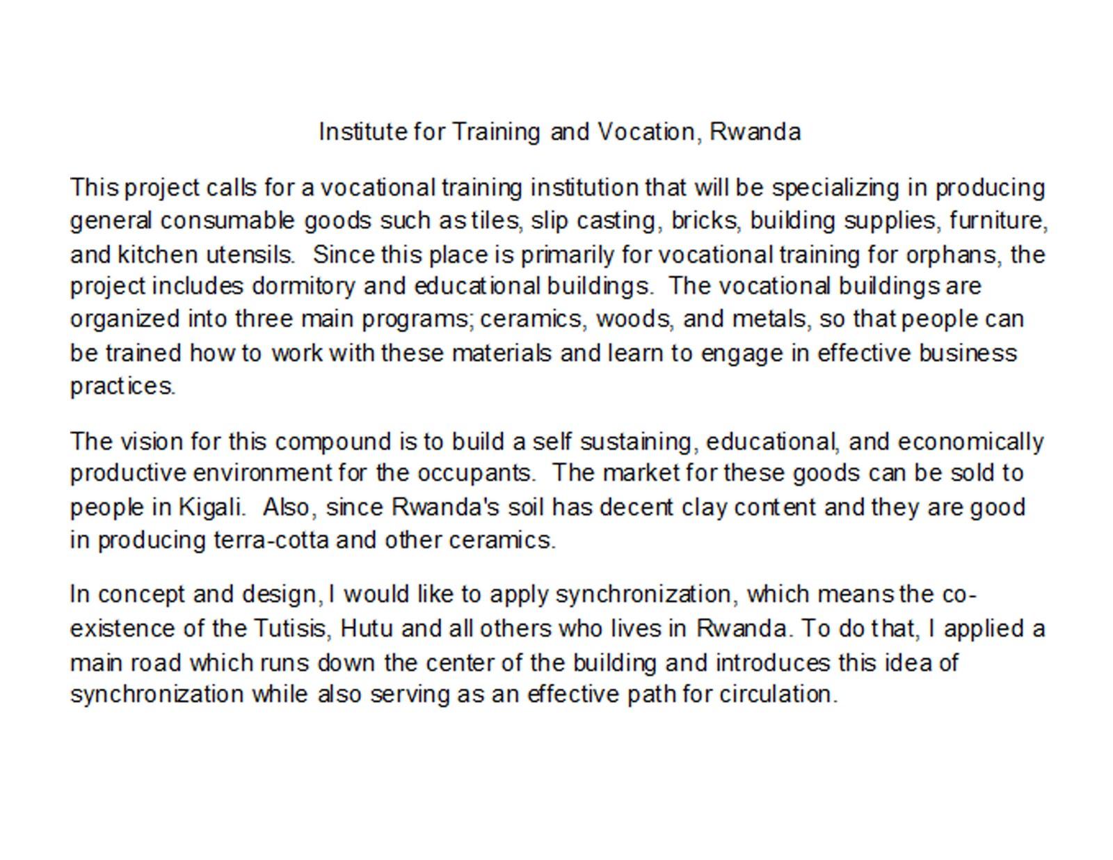 Concept statement examples interior design