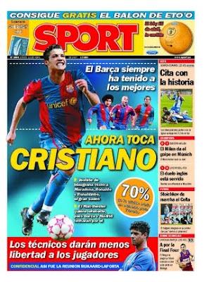Para echar unas risas con portadas historicas culerdas Portada+Sport+elpaseatras