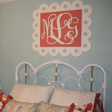 Wooden Cutout Monogram