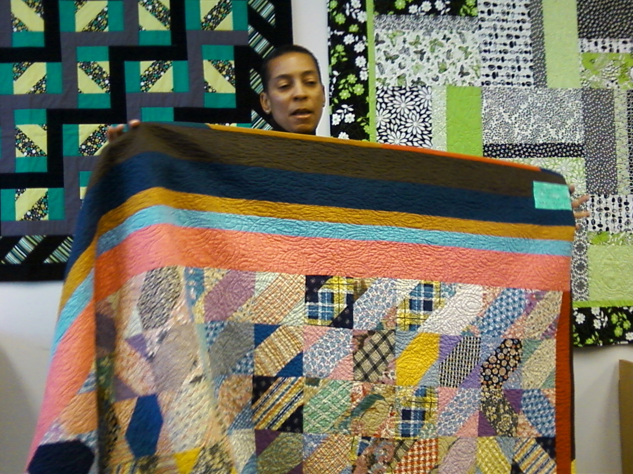 Pursuit Of Quilts Gyleen Fitzgerald S Pineapple Quilts