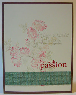stampin up, elements of style