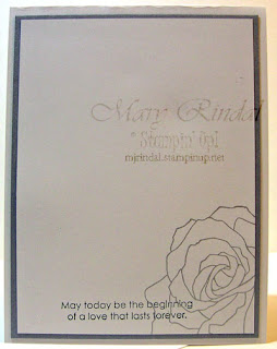 stampin up, wedding cards
