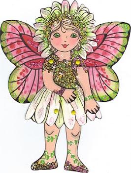 Daisy Fariy Paper Doll