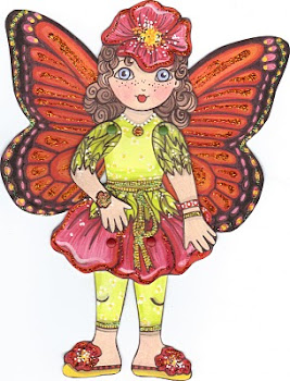 Rose Fairy Paper Doll