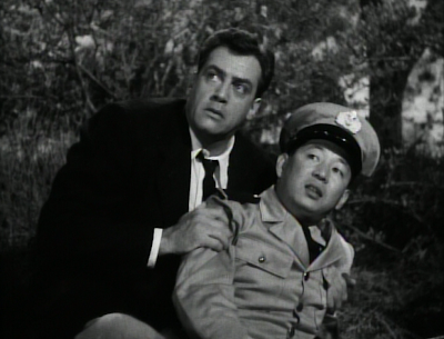we also see Raymond Burr s sidekick doing the same thing Raymond Burr Godzilla