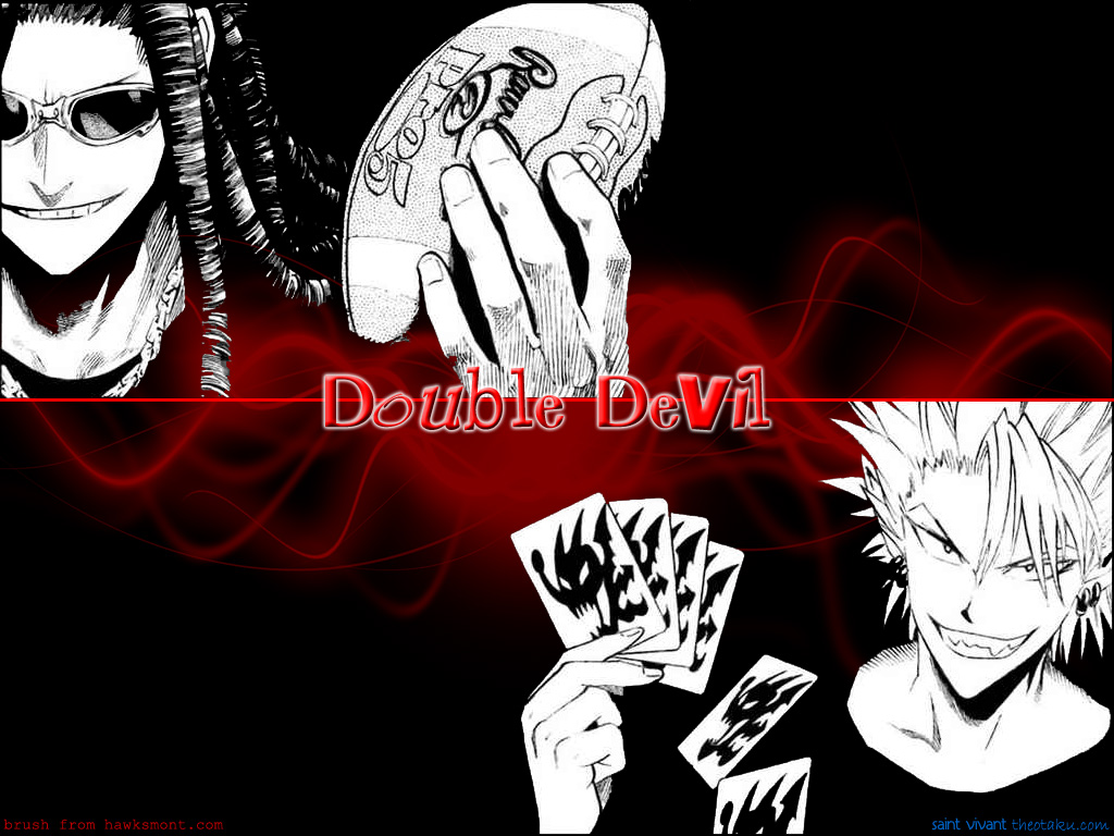 AGZ : Double Devil Eyeshield 21 Wallpaper