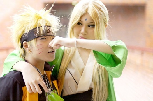Coplay Naruto and Tsunade, the fifth hokage hokage and candidates from ...