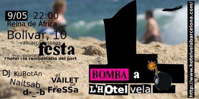 Comença la campanya contra L'HOTEL VELA